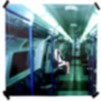 stupid ghost 2.jpg london tube british art cartoon painting contemporary artist