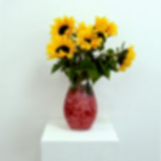Sunflowers in Mince.jpg sculpture meat vegan flowers life sunflowers contemporary art british