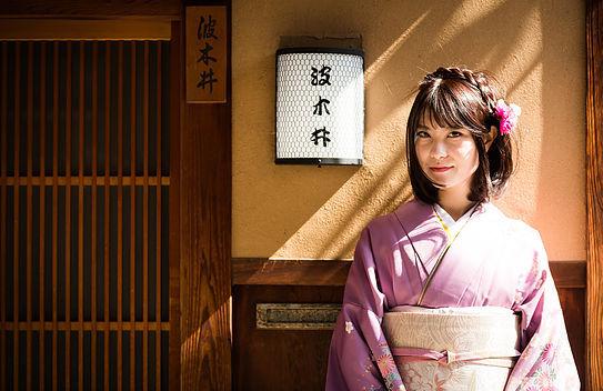 京都和服租借-夢館-訪問着