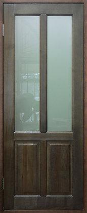 Дверь со стеклом из массива №4 (885х2000)