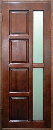 Дверь со стеклом из массива №3 (800х2000)