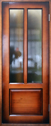 Дверь со стеклом из массива №1 (800х2010)