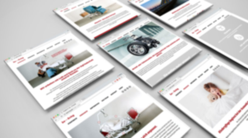 be...living, website, design
