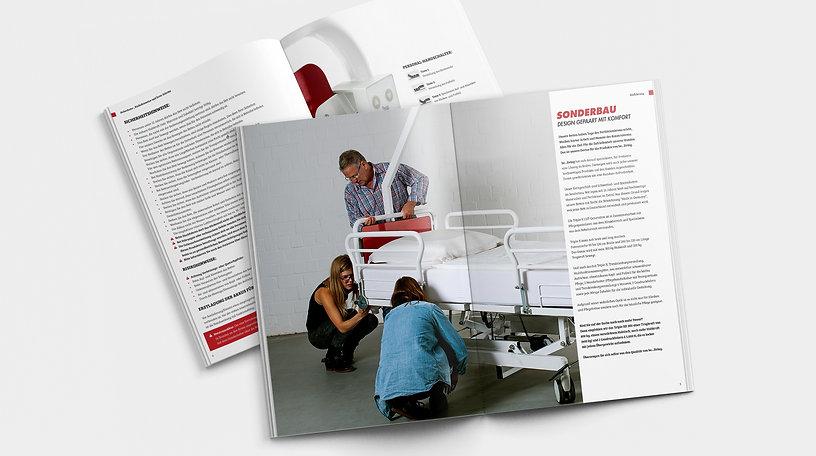 be...living, serviceheft, bedienungsanleitung, design
