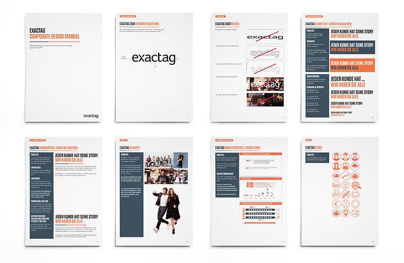 exactag, corporate design, design, marketing-attribution, re-launch
