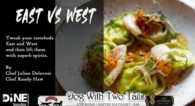 EAST VS WEST  Pairing food & Spirits
