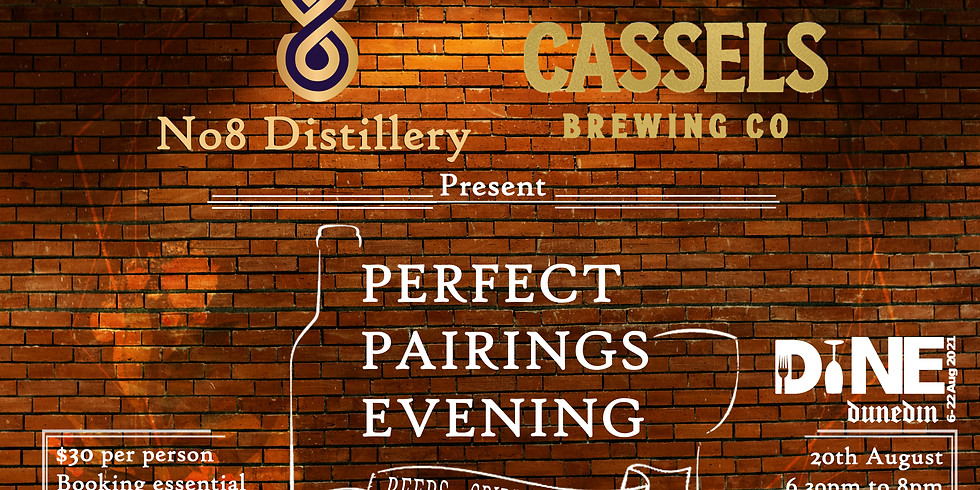 No8 Spirits X Cassel Brewery pairing