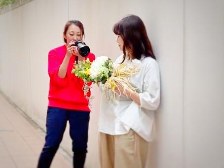 【仕事で活躍するためのプロフィール写真撮影】 東京 屋外 ART-MAI出張カメラマン