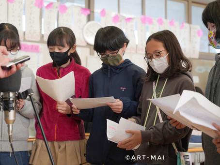 【真剣な眼差しに引き込まれる】清瀬小学校での取材にて。写真家としてプロジェクトに参加。