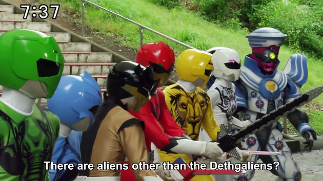 REVIEW: Zyuohger 23