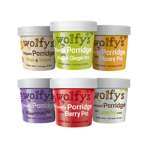 Porridge Variety Pack (pack of 6)