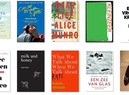 De boeken die ik las in 2019