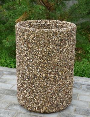 урна круглая бетонная