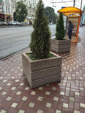 вазон бетонный