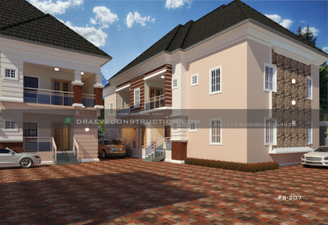 2&3 Bedroom Apartments Plan design in Nigeria (portharcourt)