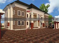 1 & 2 Bedroom Apartments Plan design in Nigeria (Port Harcourt)