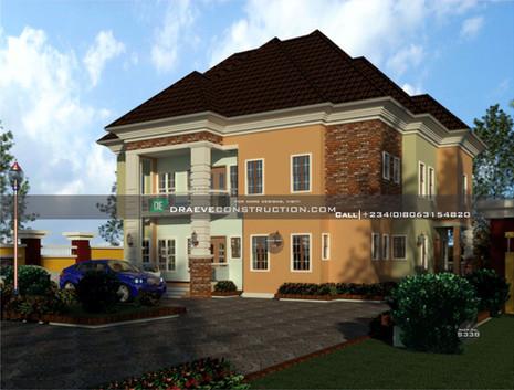 duplex design | Nigerian Houseplan Designs