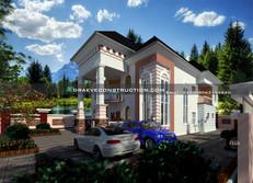 8 bedroom penthouse plan design in Nigeria
