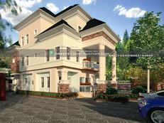 Selfcontain, 1 Bedroom & 4 bedroom Penthouse Nigerian Houseplan design