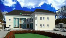 2 bedroom and 1 bedroom flats in portharcourt | Nigerian Houseplan Designs