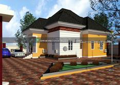 2 bedroom bungalow design | Nigerian Houseplan Designs