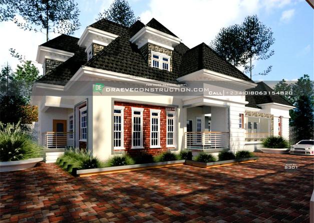 6 Bedroom Penthouse Design in Nigeria