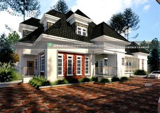 6 Bedroom Penthouse Design   Nigerian Houseplan Designs