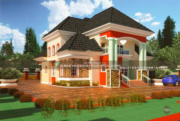 5 Bedroom Penthouse Design in Nigeria