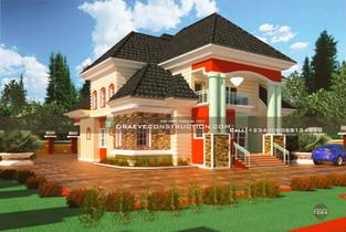5 Bedroom Penthouse Design   Nigerian Houseplan Designs