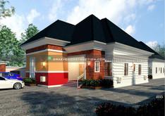 3 bedroom flat, 2 bedroom flat & Selfcontain in akwa ibom | Nigerian Houseplan Designs