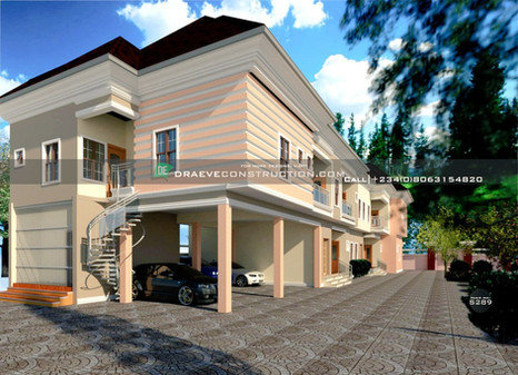 2 & 3 Bedroom Apartments Design in PortHarcourt, Nigeria