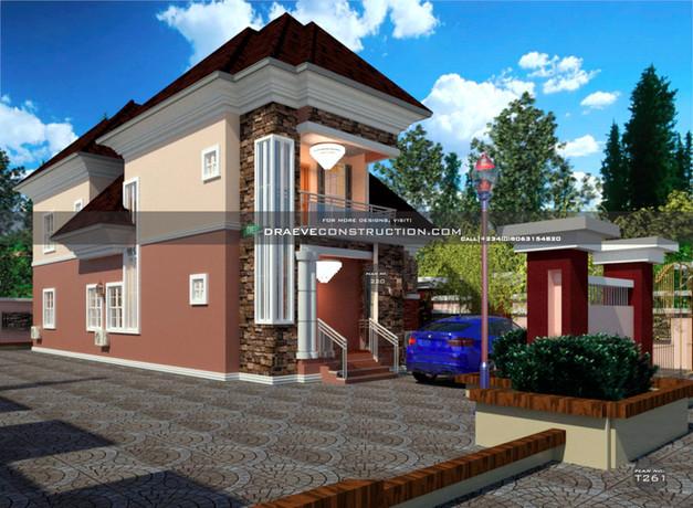 3 Bedroom Penthouse design in nigeria