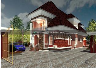 3 Bedroom Penthouse design   Nigerian Houseplan Designs