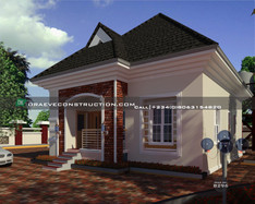 2 Bedroom Bungalow in portharcourt | Nigerian Houseplan Designs