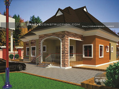 4 Bedroom Bungalow Houseplan in Nigeria (Asaba)