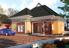 3 Bedroom Bungalow in Abuja | Nigerian Houseplan Designs