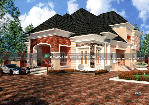6 Bedroom Penthouse Design in Ogun State, Nigeria