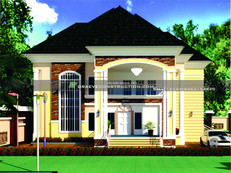 5 Bedroom Duplex Houseplan in Lagos, Nigeria