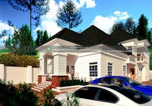 6 Bedroom Penthouse Design in Lagos   Nigerian Houseplan Designs