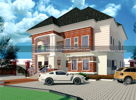 Units of 3 Bedroom Flats in Lagos | Nigerian Houseplan Designs
