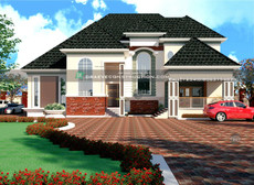 5 Bedroom Penthouse in Imo State | Nigerian Houseplan Designs