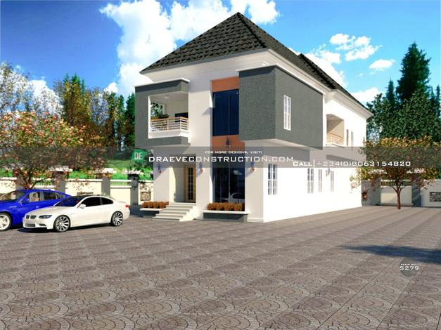 5 Bedroom Duplex Design in Lagos, Nigeria