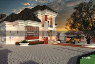 5 Bedroom Bungalow with Penthouse in Enugu, Nigeria