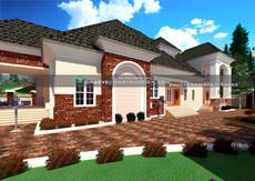 5 bedroom penthouse plan design in nigeria