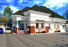 3 Bedroom Bngalow House Design in PortHarcourt, Nigeria