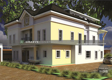 7 Bedroom Luxury Duplex House plan with a Penthouse design in Nigeria (portharcourt)