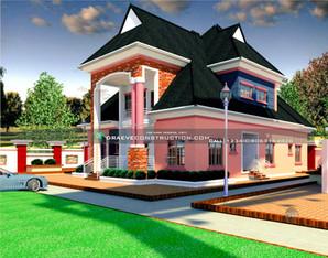 4 Bedroom Penthouse Design   Nigerian Houseplan Designs