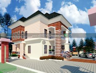 2 Units of 3 bedroom Flats Design in Lagos   Nigerian Houseplan Designs
