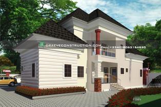 5 Bedroom penthouse   Nigerian Houseplan Designs