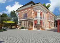 4 Units of Standard 2 Bedroom Apartments design in Nigeria (Lagos)